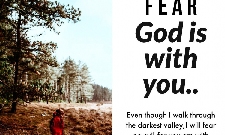 He will never forsake you.