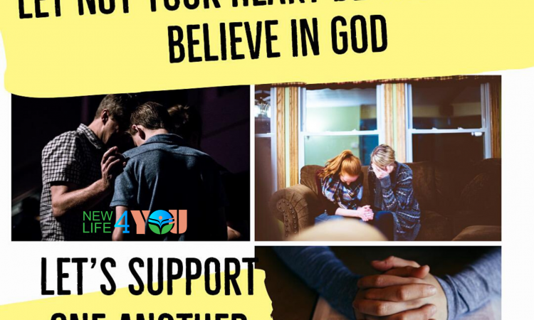 LET'S SUPPORT ONE ANOTHER IN PRAY