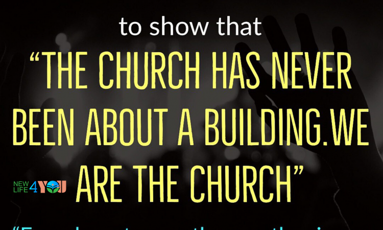 YOU ARE THE CHURCH..