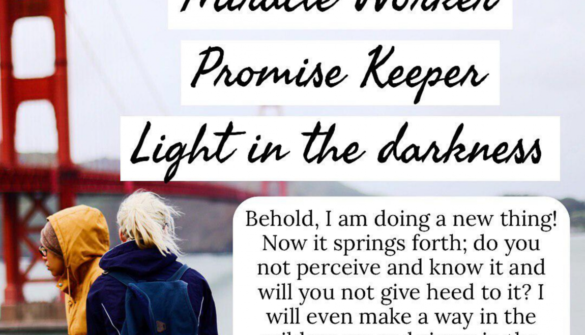 Way Maker,Miracle Worker, Promise Keeper..Light In The Darkness