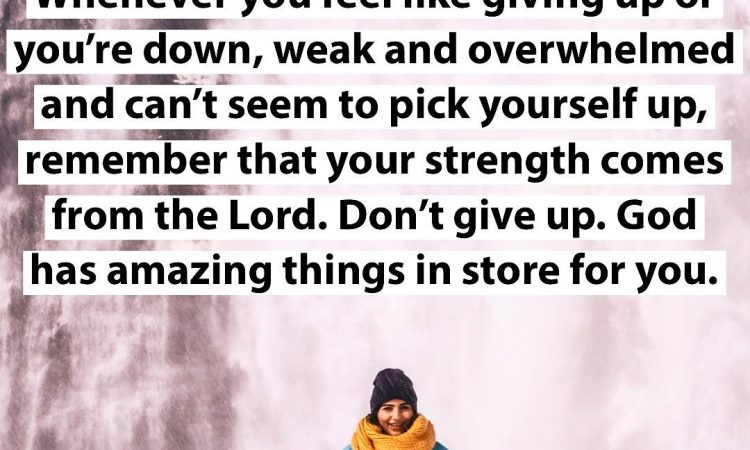 Go Ahead.. Don't Give Up.
