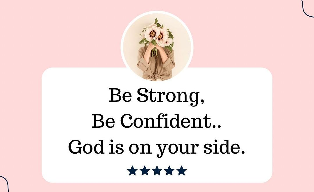 God is ALWAYS on our side.