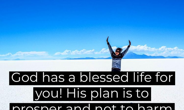 God has a blessed life for you !