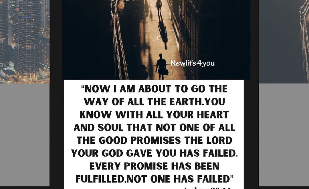 All God's promises are Yes and Amen.