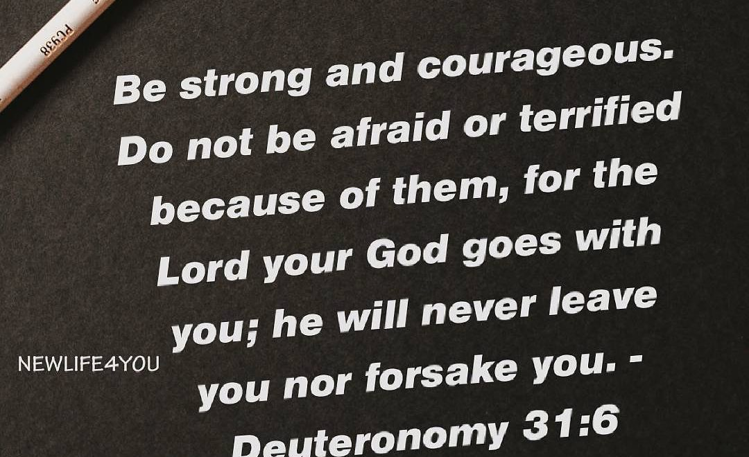 God promises that He will not fail you.