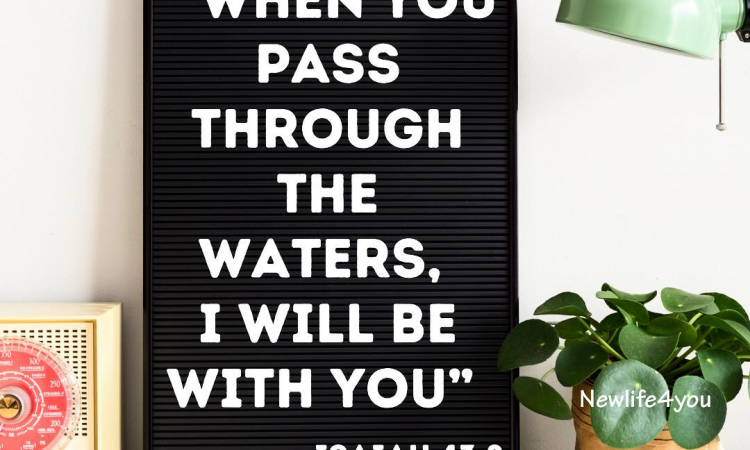 Draw near to Him and He will help you to win the battles in your life.